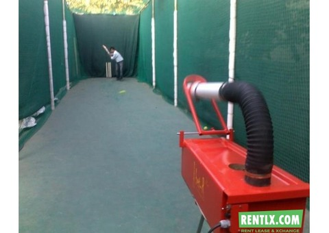 Cricket bowling machine for corporate events in Chennai