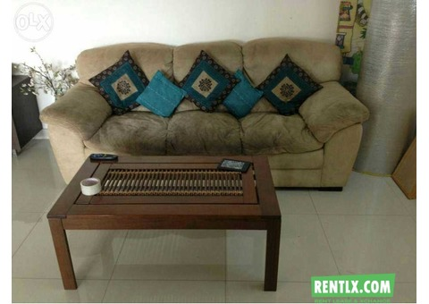 Sofa and Coffe table on Rent in Hyderabad