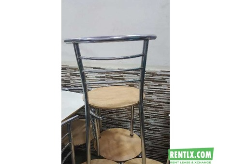 Chairs Tables and Hotel Items On Rent