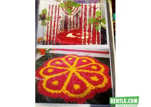 Flower Decoration in Nirman Nagar, Kings Road