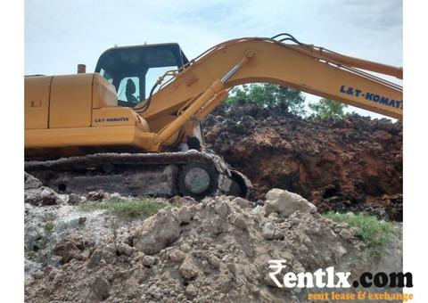 Excavator for monthly Rent