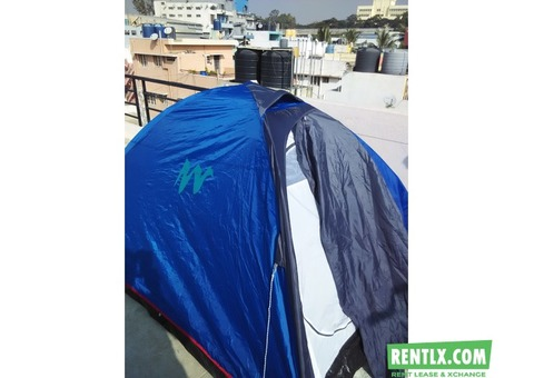 Camping tents on rent in Bangalore