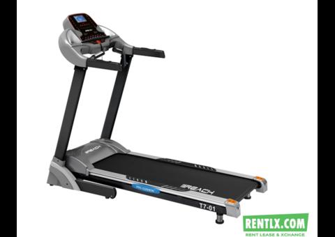 Treadmill on Rent in Gurgaon