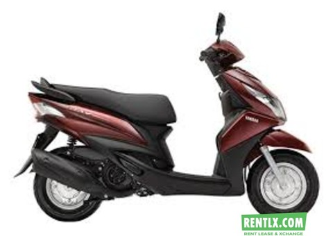 Scooty on rent in Kolkata