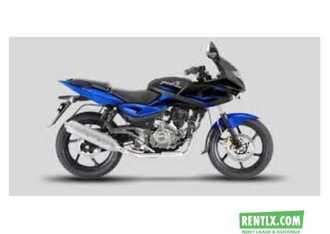 Pulsar 220 on rent in Kolkata