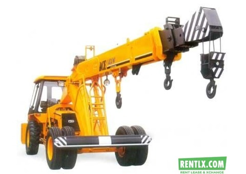 Telescopic cranes for Rent