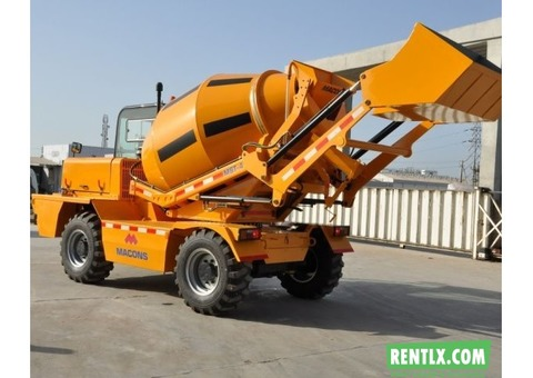 Self Loading Transit Mixer on Hire