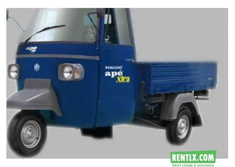 New piaggio ape xld tempo on Rent