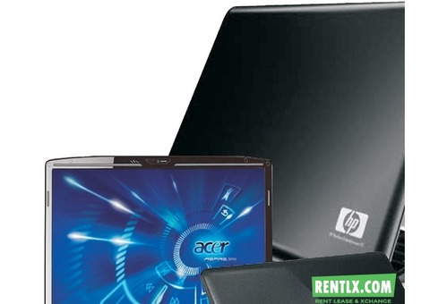 Customized Multi Brand Laptop for rent in Bangalore