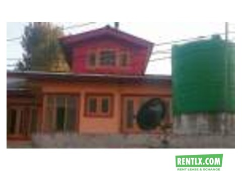 House on rent in Srinagar