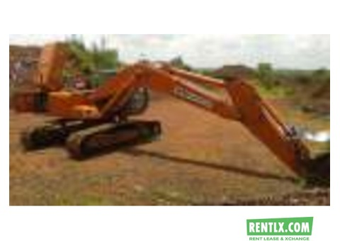 Excavator on Hire and rent