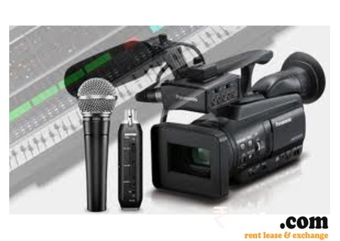 Audio Visual Equipments on Rent in Mumbai