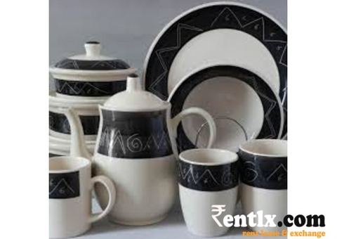 Crockery on Rent in Mumbai