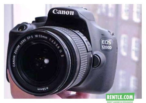 canon 1200 d for Rent