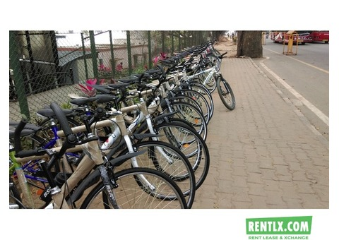 Bicycles on rent on Monthly basis