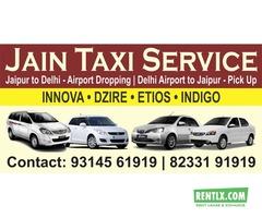 taxi in jaipur delhi