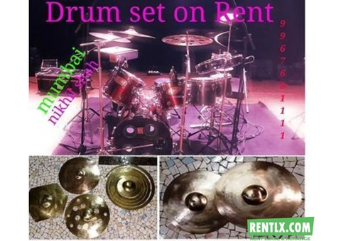 Tama Drumset on Rent