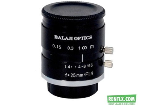 BALAJI OPTICS | C MOUNT MACHINE VISION LENS | MACHINE VISION |