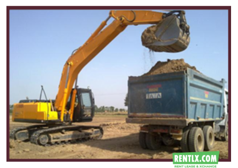 Earth Mover and Excavator on Rent