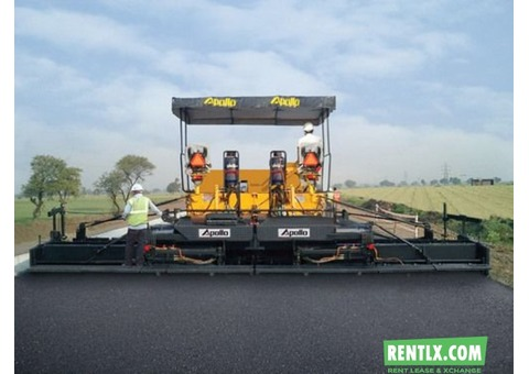 Sensor Paver 9mtr& 5 5 mtr for rent