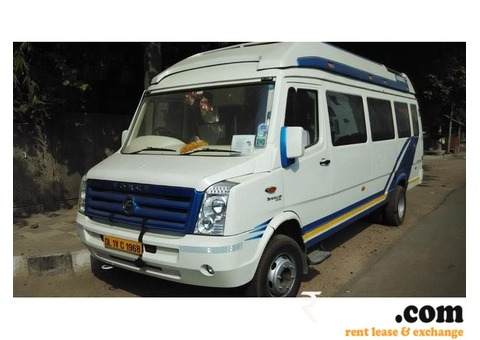Tempo Traveller for Delhi to Rajasthan Tour Package
