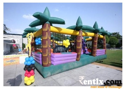 JUNGLE BOUNCY PROVIDER ON RENT FOR BIRTHDAY