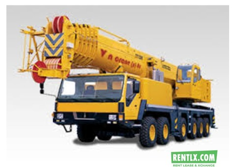 Cranes Services on Hire