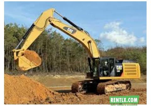 Excavators on rent