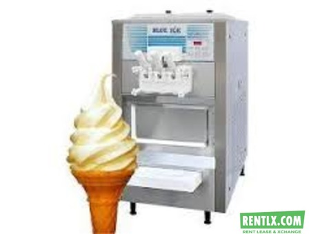 Softy cone machine in rent
