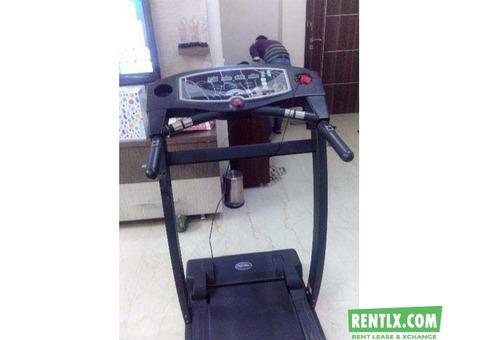 Treadmill  on rent
