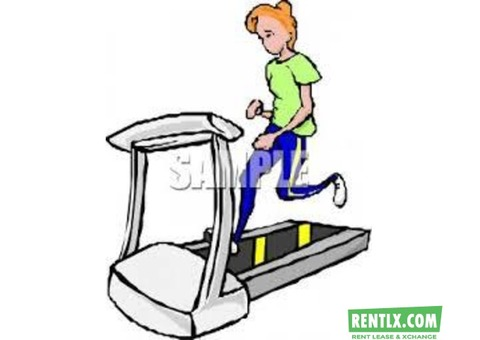 TREADMILL ON RENT FOR HOUSEHOLD