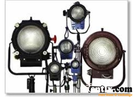 Lighting Equipment on Rent in Chandigarh