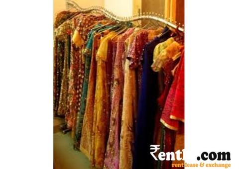 Party Wear Lehengas and Sarees on Rent in Delhi