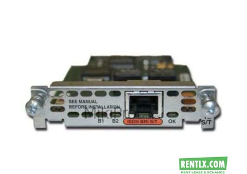 Cisco WIC-1B-S/T card Rental Service