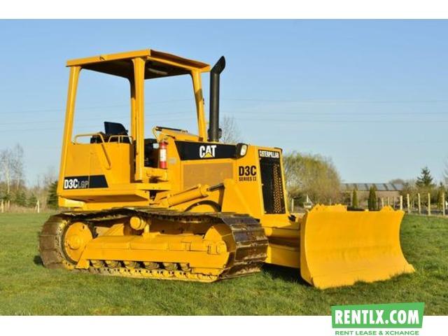 Caterpillar Dozer D6H on Hire Chandigarh ✭ Rentlx com - India's