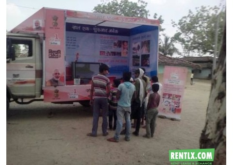 Led video van for election campaigning in kerala