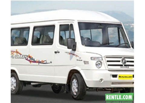 Tempo Traveller for rent in Chennai