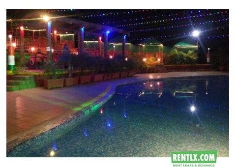 2BHK Villa with Pool, Rain Dance & Adventure Zone in Karjat