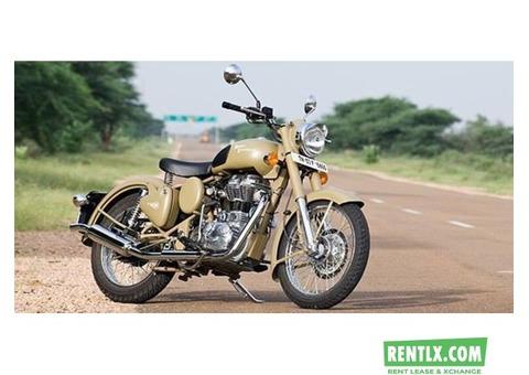 Bikes for rent in Jaisalmer