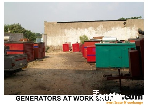 Cummins generator is available for rent at reddy generators