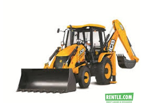 JCB for rent any where is come