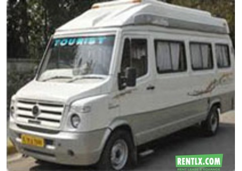 16 Seater Tempo Traveller on Rent in Delhi