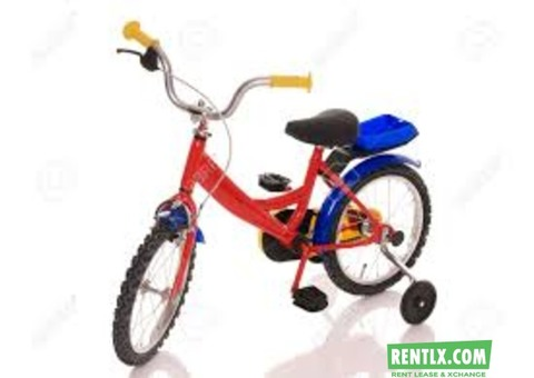 Children Bicycle on Rent in Hyderabad