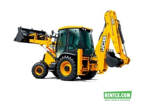 JCB Backhoe Loader 3D on Rent in Delhi