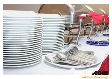 Crockery Hire Service in Delhi