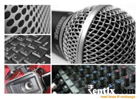 Audio Visual Equipment's on Rent in Mumbai