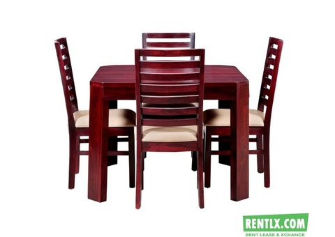 Dining table and Bed on Rent in Pune
