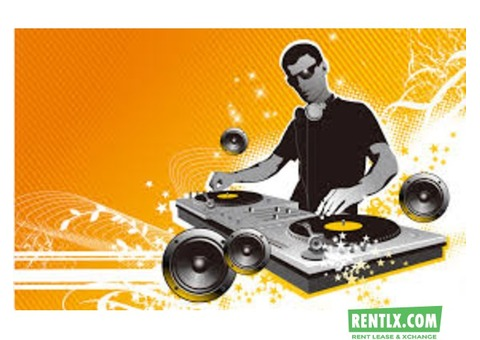 Dj Sound for Rent in Kolkata