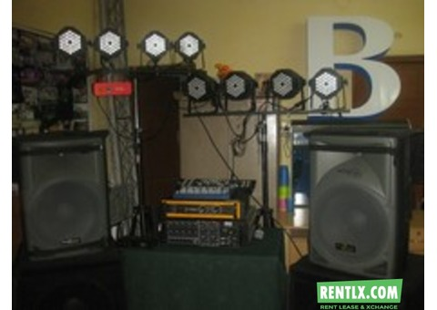 Sound and Lighting for Hire in Bangalore