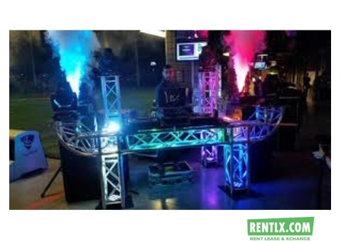 Music System on rent in Pune